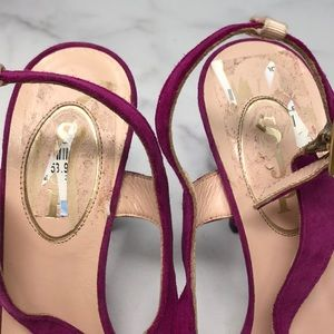 SJP by Sarah Jessica Parker Shoes - SJP Sarah Jessica Parker Strappy Heels 8 B1